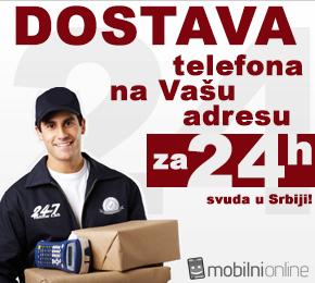 Dostava mobilnih telefona na kućnu adresu za 24h