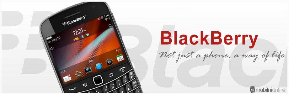BlackBerry banner