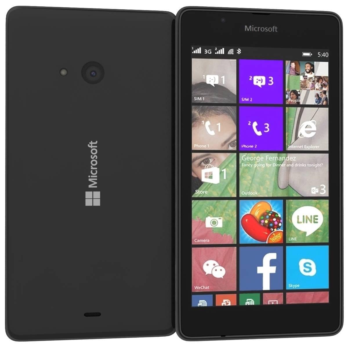 Microsoft Lumia 540 Dual Sim Black